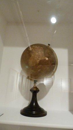 Musée Jules Verne de Nantes : LA MAPPEMONDE DE MR VERNE
