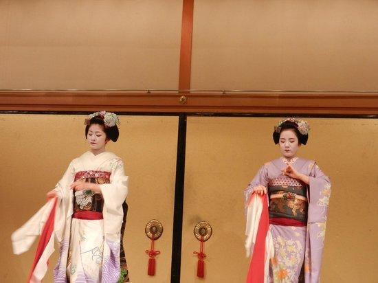 Gion Corner: Maiko Dance (not Geisha)
