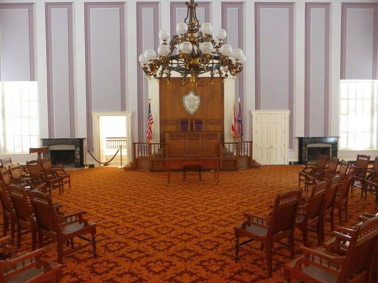 Alabama State Capitol: Old House Chamber