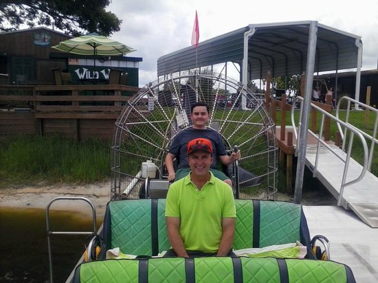 Wild Willy's Airboat Tours: Capt. Alex & Dad Terry Sage