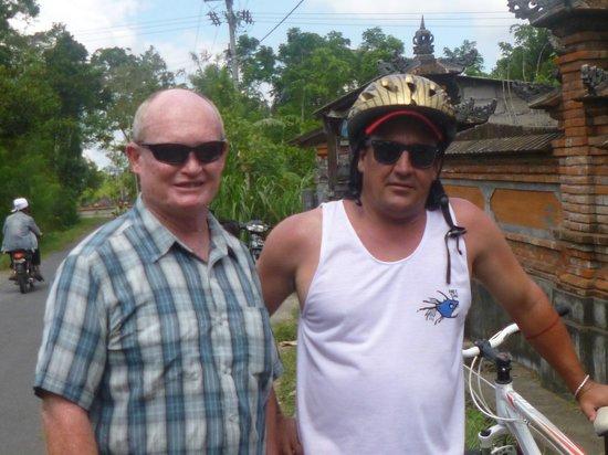 Bali Bintang Tour: We had  great time riding through the villages.