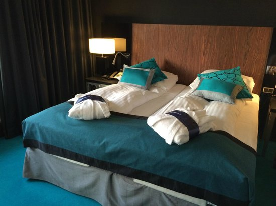 Radisson Blu Scandinavia Hotel, Aarhus: Comfortable adjusting beds