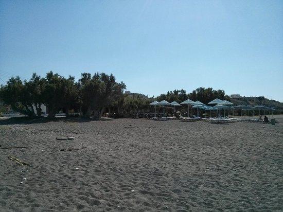 smartline Arion Palace : plage en face de l'hôtel