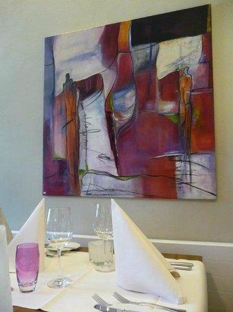 Gasthaus zum Kranz: Vermissage im Restaurant - Kunst zum kaufen