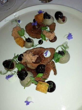 Mudbrick Vineyard & Restaurant : Venison Black Forest starter
