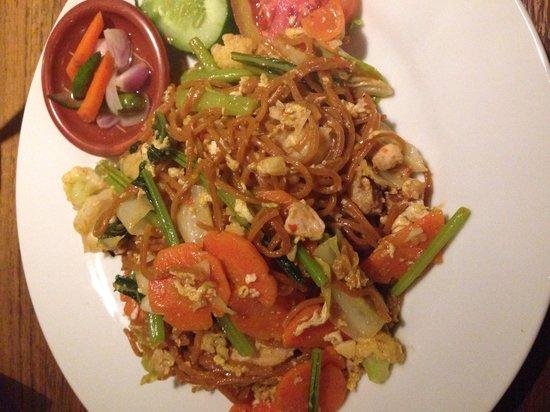 La Men Resto : Fried Spicy Noodles