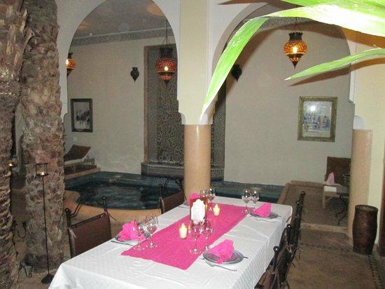Riad Les Trois Palmiers El Bacha: Relax Area