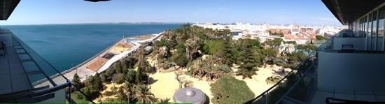 Parador de Cádiz: Panoramica desde habitacion impar 7a planta