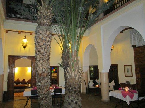 Riad Les Trois Palmiers El Bacha: Terrace