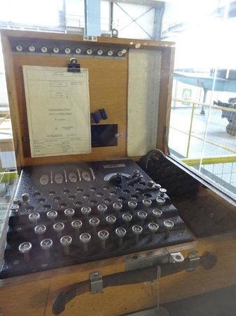 Swiss Military Museum Full: Enigma machine