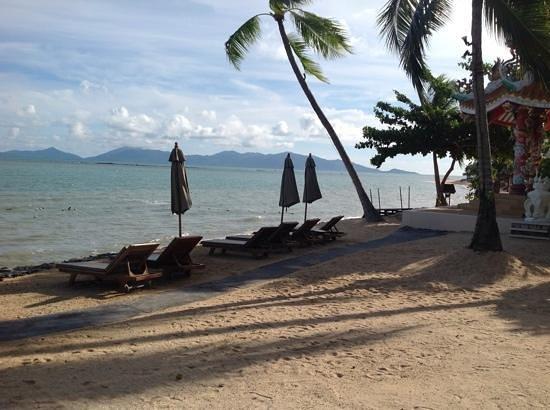 Fair House Villas & Spa: Beach view morning