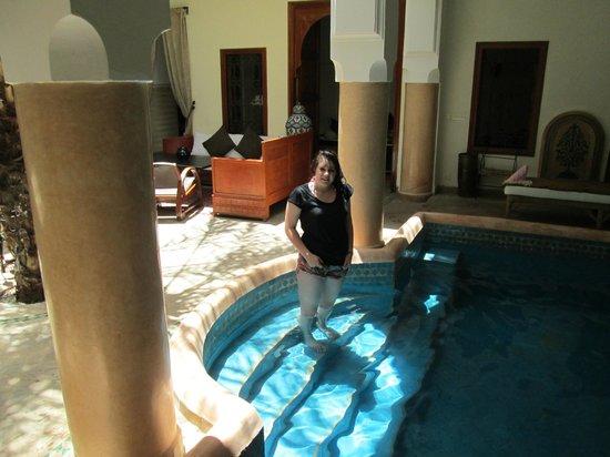Riad Les Trois Palmiers El Bacha: Plunge Pool