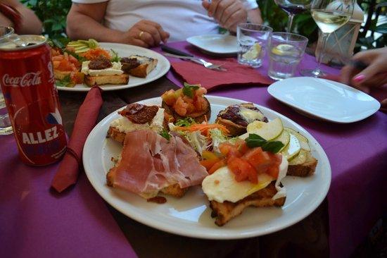Enoteca Trastevere: Typisch Italiaans voorgerecht