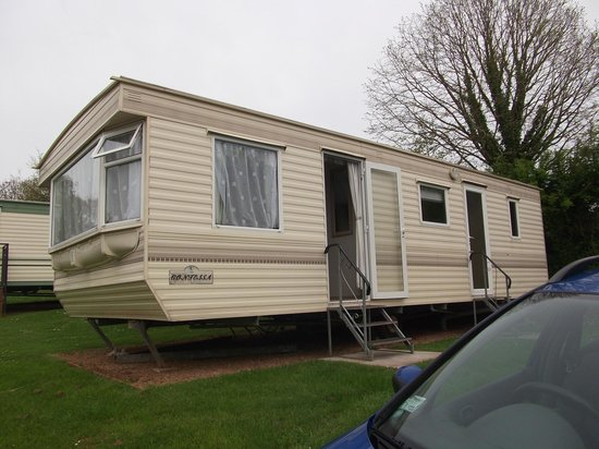 Whitehill Country Park: Very comfortable and well maintained caravan