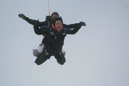 Skydive Hinton: In the clouds