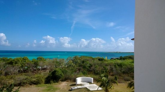 Memories Flamenco Beach Resort : Ocean View from Balcony at Bungalow 1