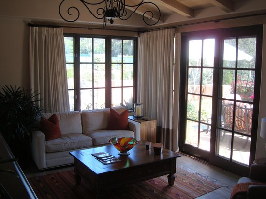 Rancho Valencia Resort & Spa : Living room