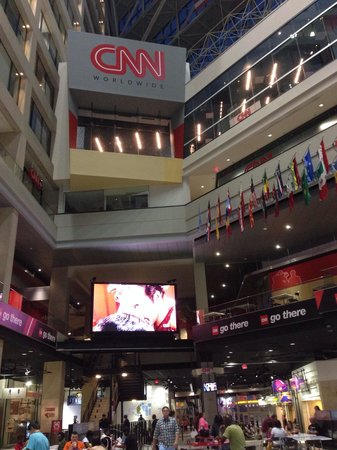 Omni Atlanta Hotel at CNN Center: View of CNN Center food court, connected to hotel