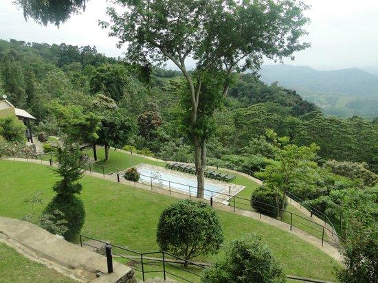 Melheim Resort : From Restaurant balcony