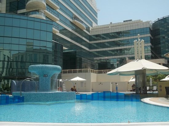 View From The Pool Picture Of Copthorne Airport Hotel Dubai Dubai Tripadvisor