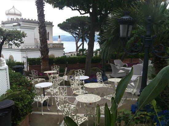 Hotel Excelsior Parco : jardim