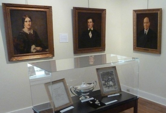 John Harris-Simon Cameron Mansion: The Mansion features changing exhibits.