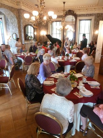 John Harris-Simon Cameron Mansion: The historical society holds teas, lectures, and other programs in the parlor.