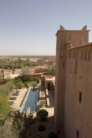 Kasbah Ait Ben Moro : View from the top terrace