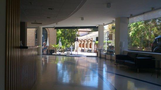 Hotel Balneario De Lanjaron: Recepcion Hall