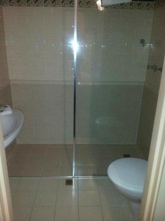 McLaren Hotel: Shower
