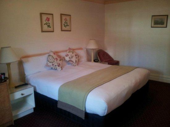 McLaren Hotel: King bed