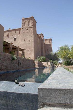 Kasbah Ait Ben Moro : Terrace