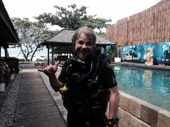 Blue Marlin Dive Gili Trawangan: License to dive!