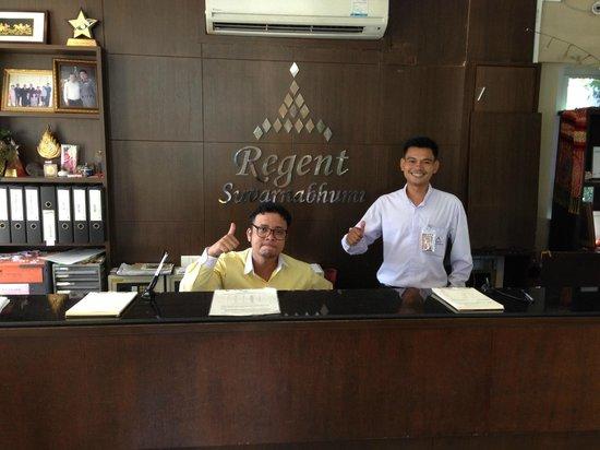 Regent Suvarnabhumi Hotel: Reception