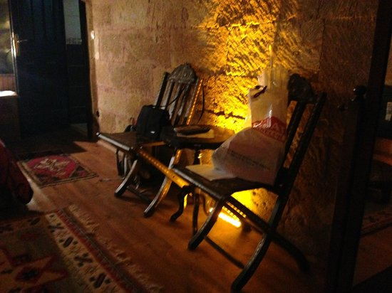 Urgup Inn Cave Hotel : Effective lighting in the room