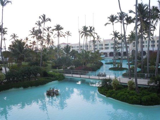 Iberostar Grand Hotel Bavaro: Morning balcony view (1)