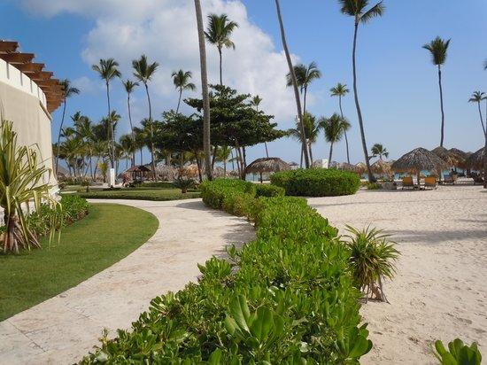 Iberostar Grand Hotel Bavaro: The beach area