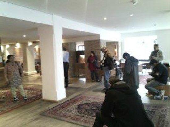 Bon Alpina: Lobby of Hotel