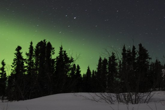 Northern Lights from Mount Aurora Lodge
