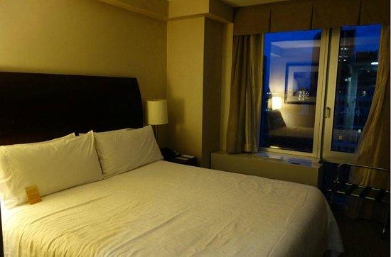 Hilton Garden Inn New York/West 35th Street: A room with a city view