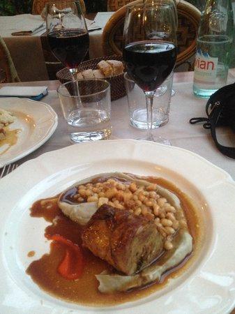Le Cafe des Artistes : Un morceau d'agneau extraordinaire