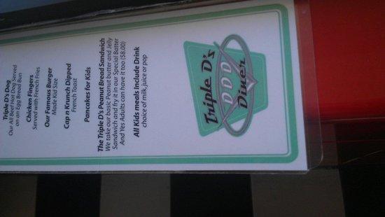 Triple D's Diner: Love the old stuff it looks like it was in the 1980's love it