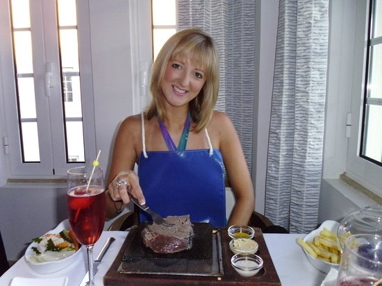 Princess Garden : Steak on the Stone