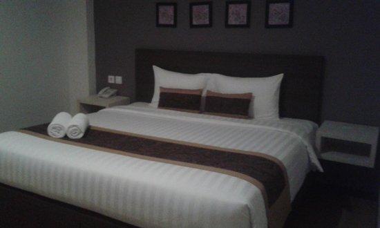 Arianz Hotel: Comfy bed