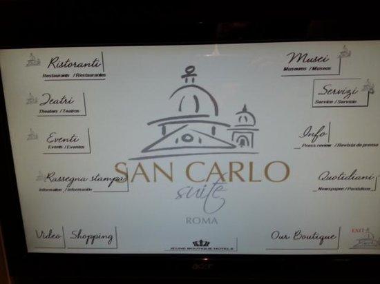 San Carlo Suite : Interior
