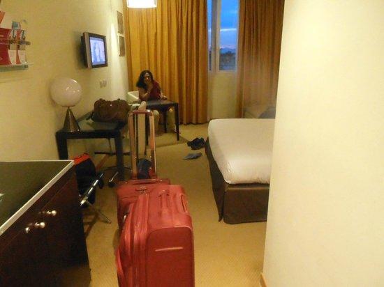 Crowne Plaza Padova: view of room with Mrs. Uma Devendra Singhal