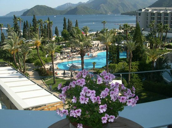 D-Resort Grand Azur: Gartenanlage mit Pool