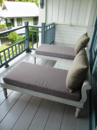 Devasom Hua Hin Resort: Private balcony