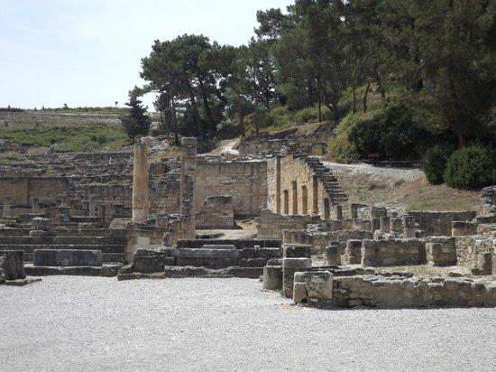The Kresten Royal Villas & Spa: ruines de Kamiros