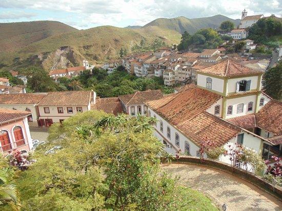Grande Hotel de Ouro Preto: Vista do hotel para a cidade de Ouro Preto